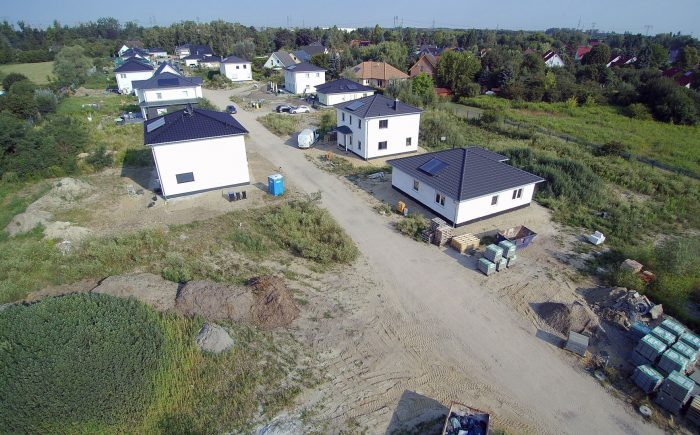 Baugrundstück Brieselang zu verkaufen, Blick nach Norden-Westen.