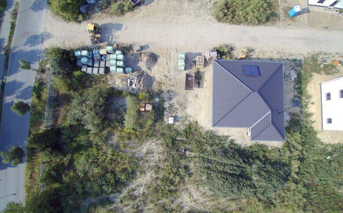 Baugrundstück Brieselang zu verkaufen, Blick von oben.